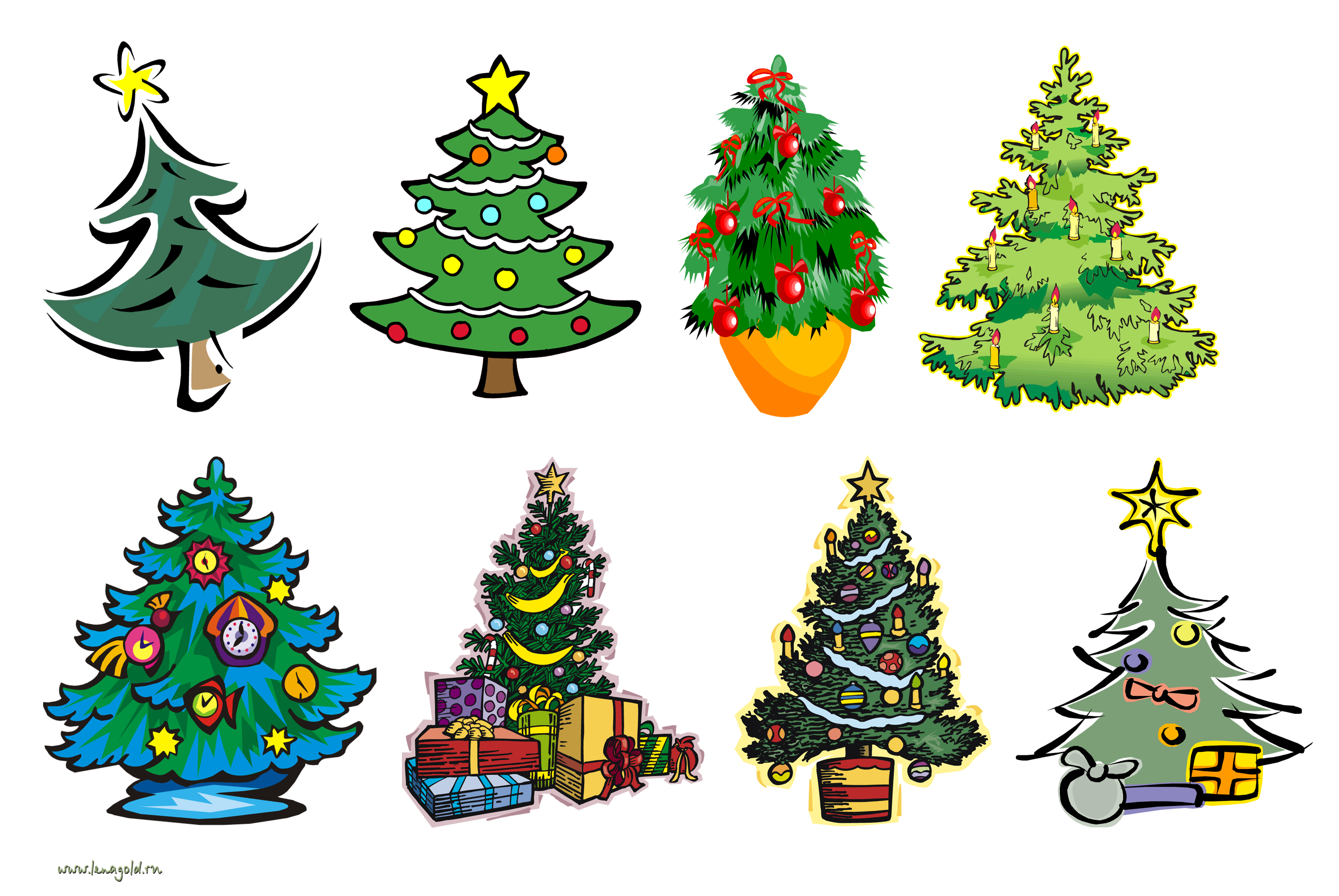 Рисунки Открытка елка иКостюмы новогодние для малышей