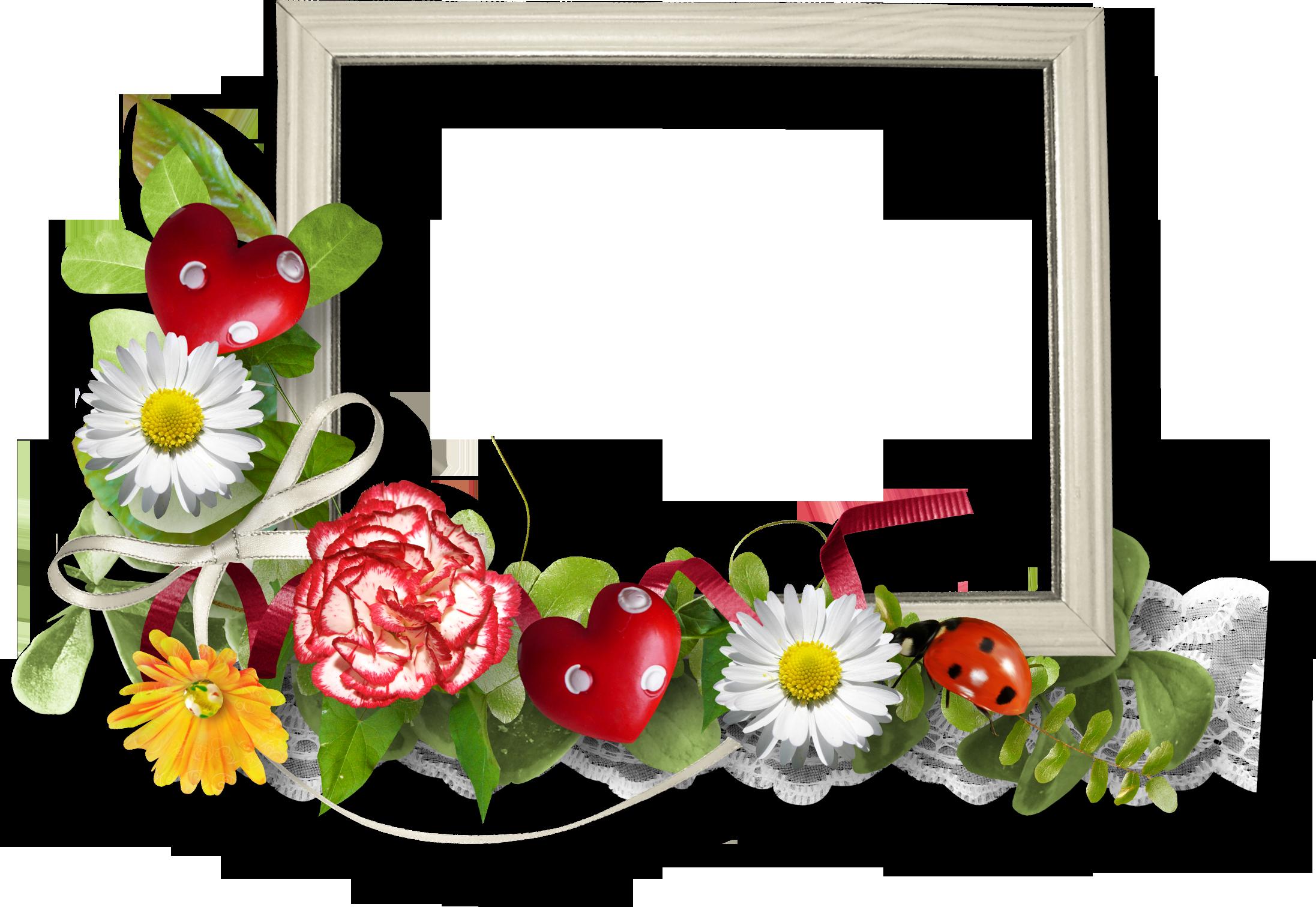 Рамки на цветы