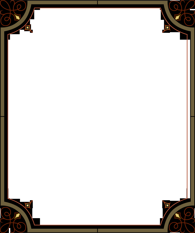 Рамка для поздравлений с орнаментом